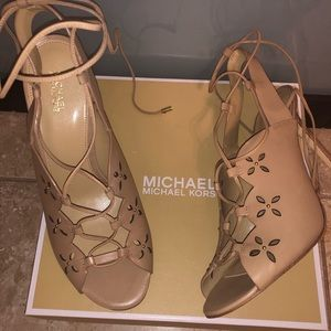 🎉 Michaels Kors Thalia High Heels